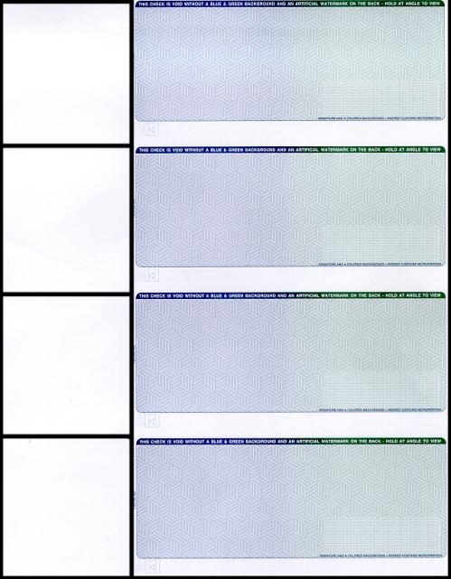 Checks per Page, Personal Check Paper CP641 - 3 Perforations (1 Ream ...