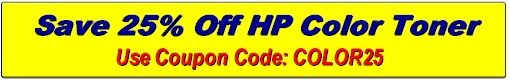 HP Color Toner Coupons