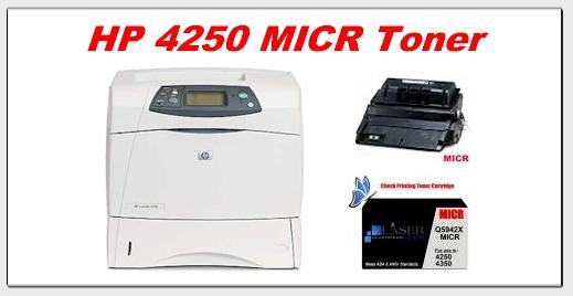hp 4250 micr toner