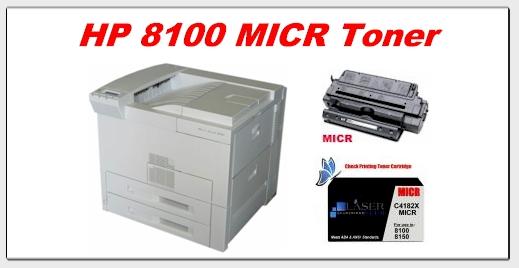 hp 8100 micr toner
