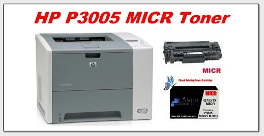 hp p3005 micr toner