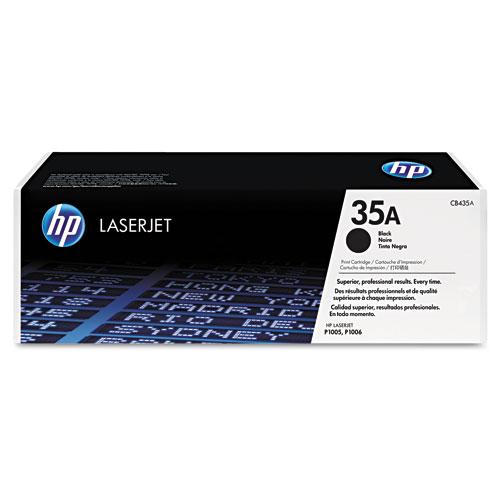 ... HP Toner > HP 35A, CB435A - HP LaserJet P1005 P1006 Toner - Genuine