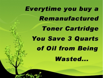 toner refill saves toner cartridges from landfills