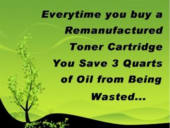 toner refill saves toner cartridges from landfills
